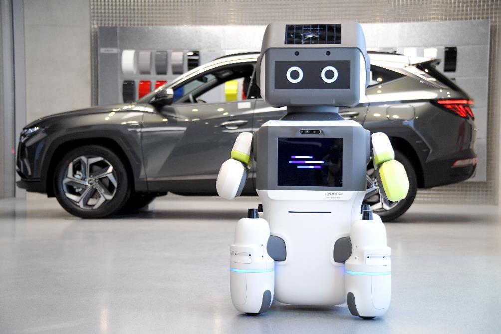 Hyundai Motor Group представляет робота DAL-e для обслуживания клиентов